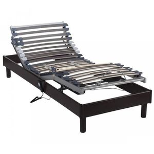 SOMMIER Sommier Someo Relaxation Electrique 2x90x200