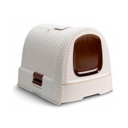 maison de toilette ferm e pour les chats curver achat vente maison de toilette maison de. Black Bedroom Furniture Sets. Home Design Ideas