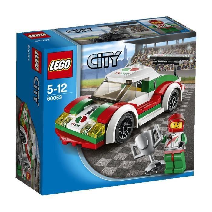 lego city 60053 la voiture de course achat vente assemblage construction lego city 60053. Black Bedroom Furniture Sets. Home Design Ideas
