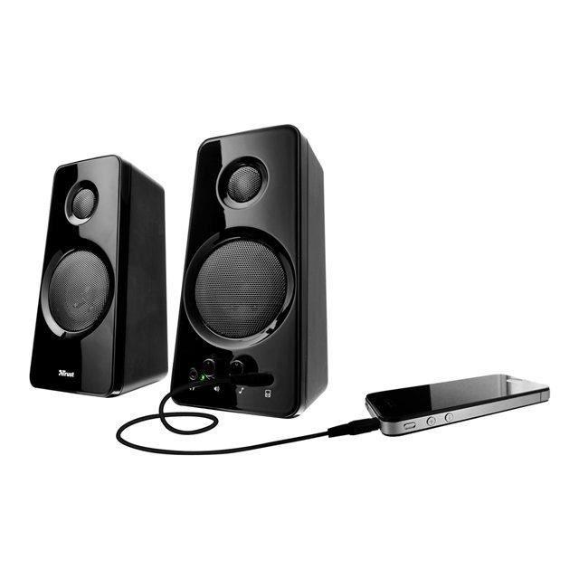 trust haut parleurs multim dia pc pour ipod prix pas cher cdiscount. Black Bedroom Furniture Sets. Home Design Ideas