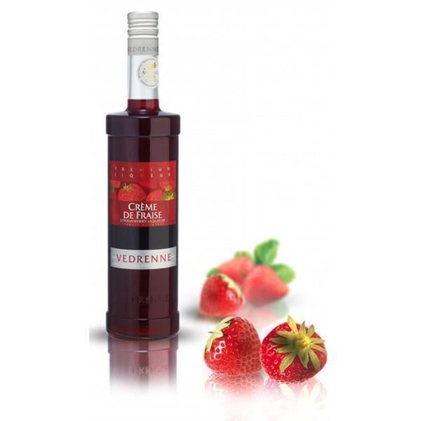 cr me de fraise vedrenne 50cl 15 d 39 alcool achat vente liqueur cr me de fraise vedrenne. Black Bedroom Furniture Sets. Home Design Ideas