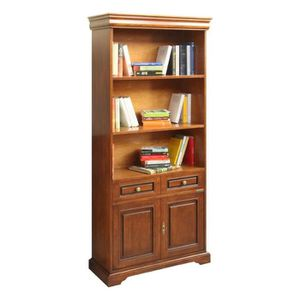bibliotheque louis philippe achat vente bibliotheque louis philippe pas cher cdiscount. Black Bedroom Furniture Sets. Home Design Ideas