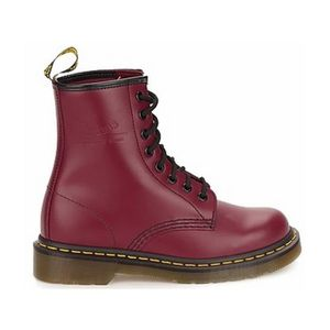 BOTTINE dr martens 1460 cherry red smooth T44