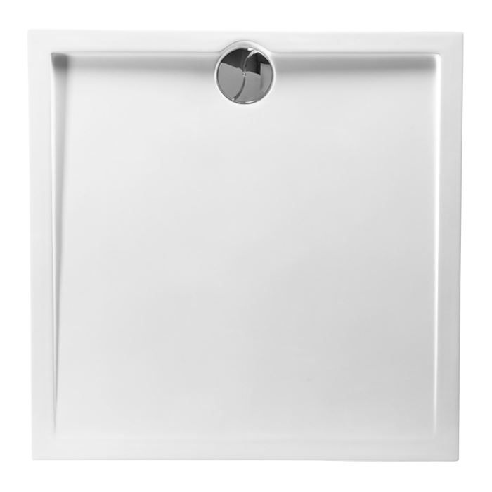 Alliber receveur de douche carr 90 x 90 cm achat vente douche receveur - Receveur de douche allibert ...