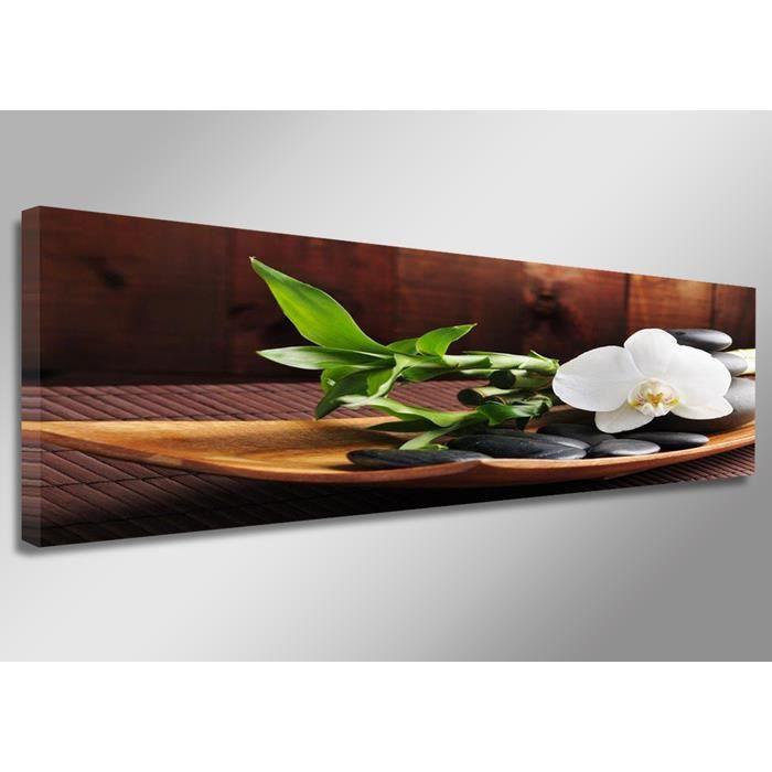 Tableau moderne imprim 120x40 cm zen achat vente tableau toile toile - Tableau moderne discount ...