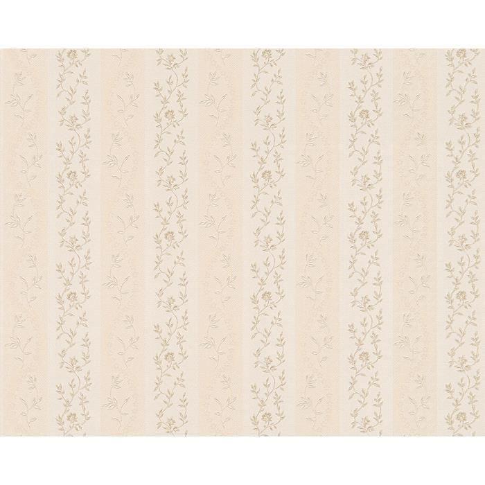 Papier peint chateau 4 10 05 m x 0 53 m beige achat vente papier pein - Papier peint premier prix ...