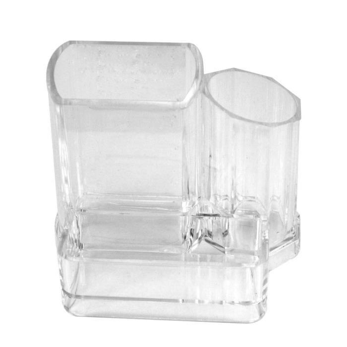 pr sentoir organisateur cosm tique bo te rangement acrylique compartiments achat vente. Black Bedroom Furniture Sets. Home Design Ideas