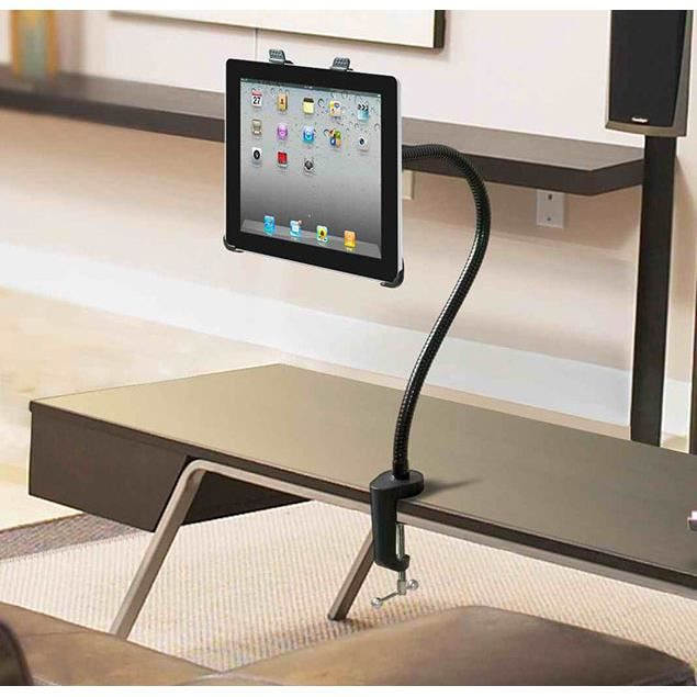 col de cygne 360 lit bureau support lazy mount for ipad 2 3 pc 4 air mini tablet achat On support ipad lit