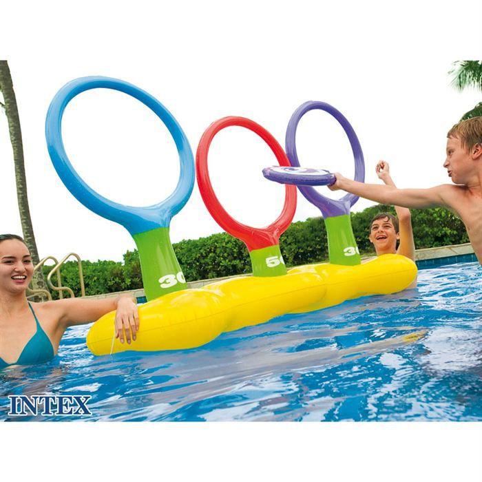 jeu d 39 adresse frisbee intex achat vente jeux de piscine les soldes sur cdiscount cdiscount. Black Bedroom Furniture Sets. Home Design Ideas
