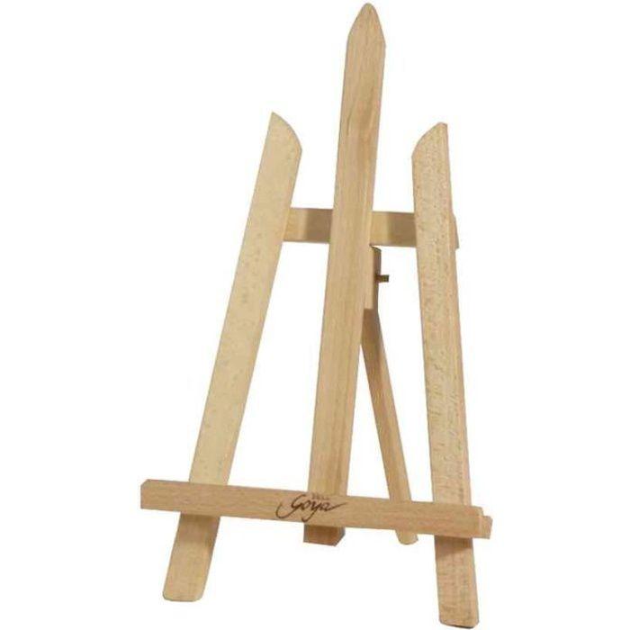 chevalet de table solo goya trois pieds achat vente chevalet cdiscount. Black Bedroom Furniture Sets. Home Design Ideas