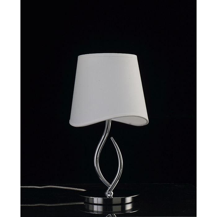 lampe a poser ninette 1l design mantra achat vente lampe a poser ninette 1l de cdiscount. Black Bedroom Furniture Sets. Home Design Ideas