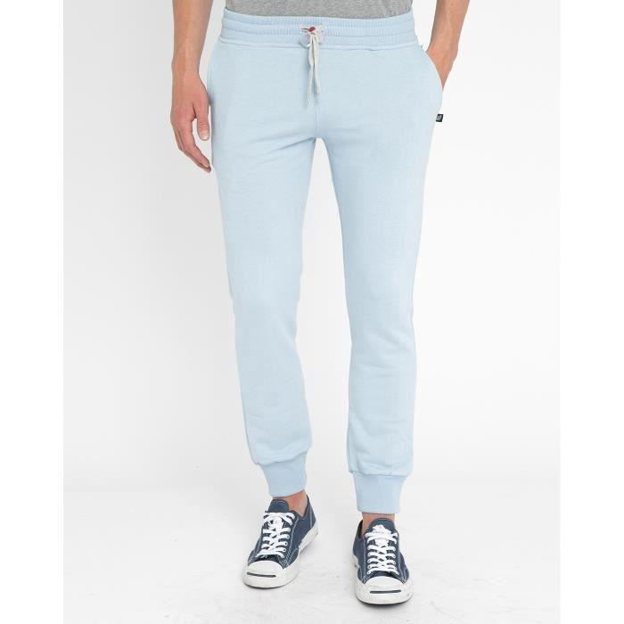 Pantalon de jogging bleu ciel slim pour homme bleu achat vente surv tement de sport - Jogging homme slim ...