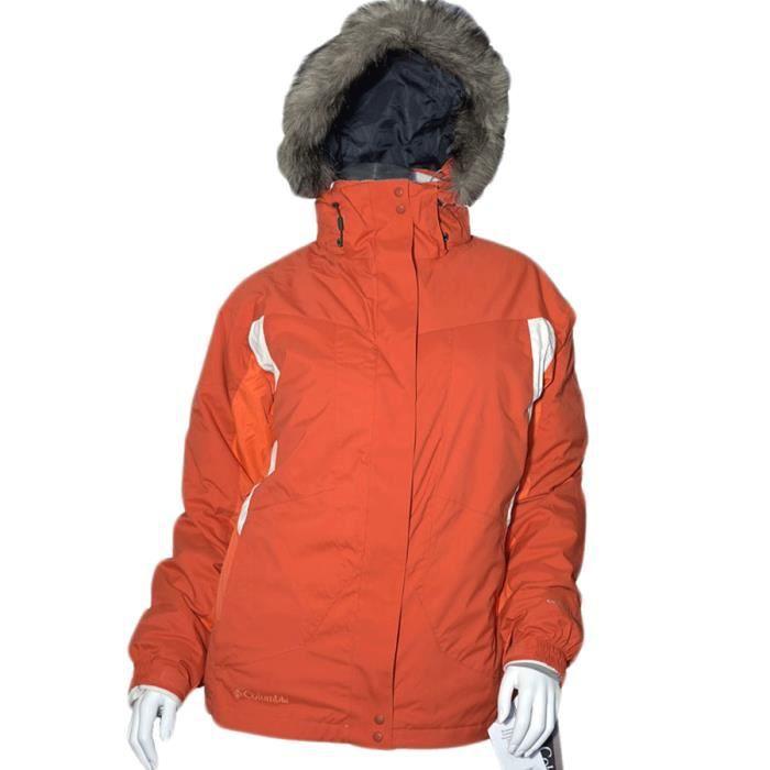 veste hiver ski columbia red canyon femme achat vente blouson de ski veste hiver ski. Black Bedroom Furniture Sets. Home Design Ideas