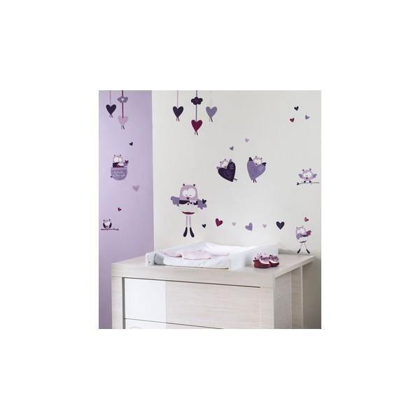 stickers muraux mam zelle bouh sauthon achat vente. Black Bedroom Furniture Sets. Home Design Ideas