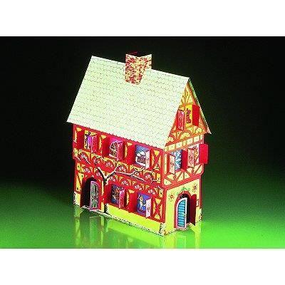maquette en carton maison calendrier de l 39 avent achat vente univers miniature maquette. Black Bedroom Furniture Sets. Home Design Ideas