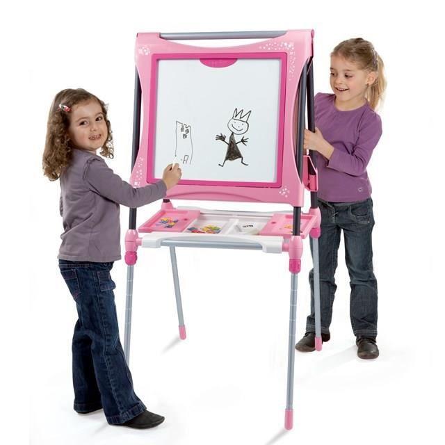 smoby mon tableau evolutif rose achat vente tableau enfant smoby tableau evolutif rose. Black Bedroom Furniture Sets. Home Design Ideas
