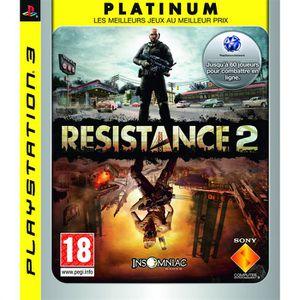 JEU PS3 Resistance 2 Platinum Jeu PS3