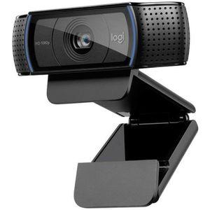 LOGITECH Webcam HD Pro C920 Refresh - Microphone intégré - Idéal FaceTime et Skype