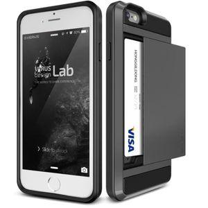 Coque Iphone  Avec Porte Carte