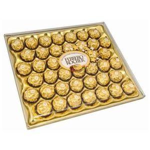 CONFISERIE DE CHOCOLAT Confiserie de Noël: Ferrero Rocher 42 pièces, 525