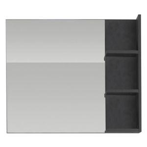 Miroir de salle de bain avec tablette achat vente miroir de salle de bain - Miroir salle de bain avec etagere ...