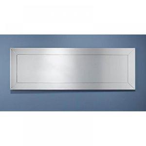 Miroir mural rectangulaire bois achat vente miroir - Grand miroir mural rectangulaire ...