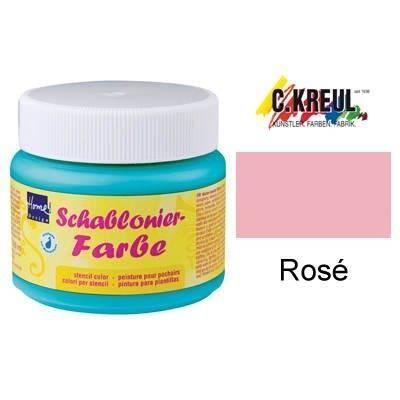 Babywalz la peinture pour pochoirs rose achat vente pochoir cr atif bab - Peinture pour pochoir ...