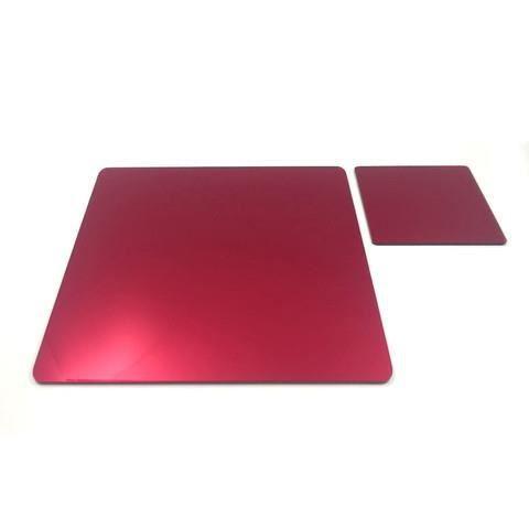 6 miroir rouge napperons carr s et sous verres achat for Miroir acrylique incassable