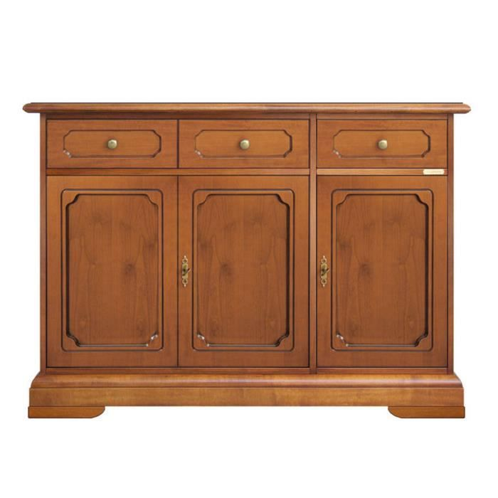 buffet 3 portes 2 tiroirs achat vente buffet bahut. Black Bedroom Furniture Sets. Home Design Ideas