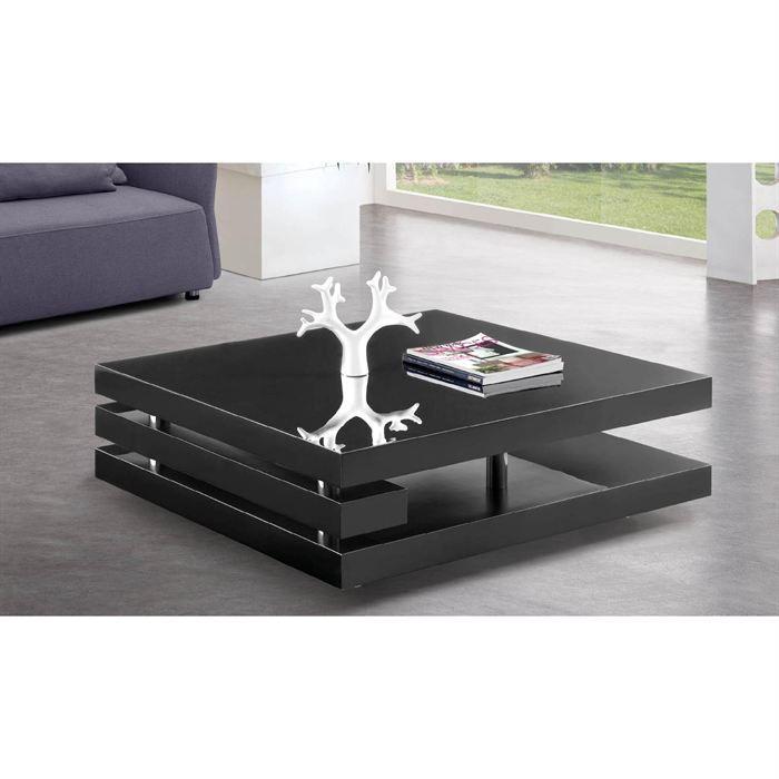 les concepteurs artistiques table basse noir laquee. Black Bedroom Furniture Sets. Home Design Ideas