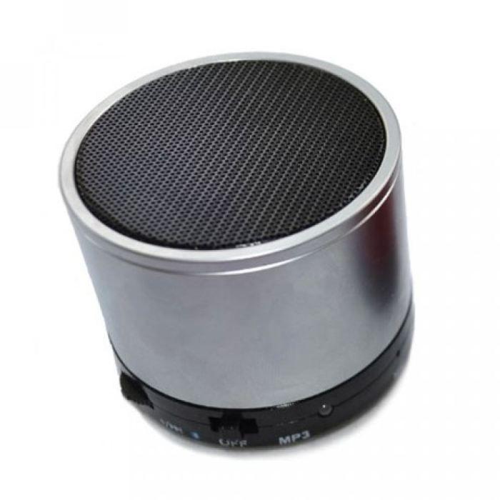 enceinte bluetooth minispeaker metal gris enceintes bluetooth avis et prix pas cher cdiscount