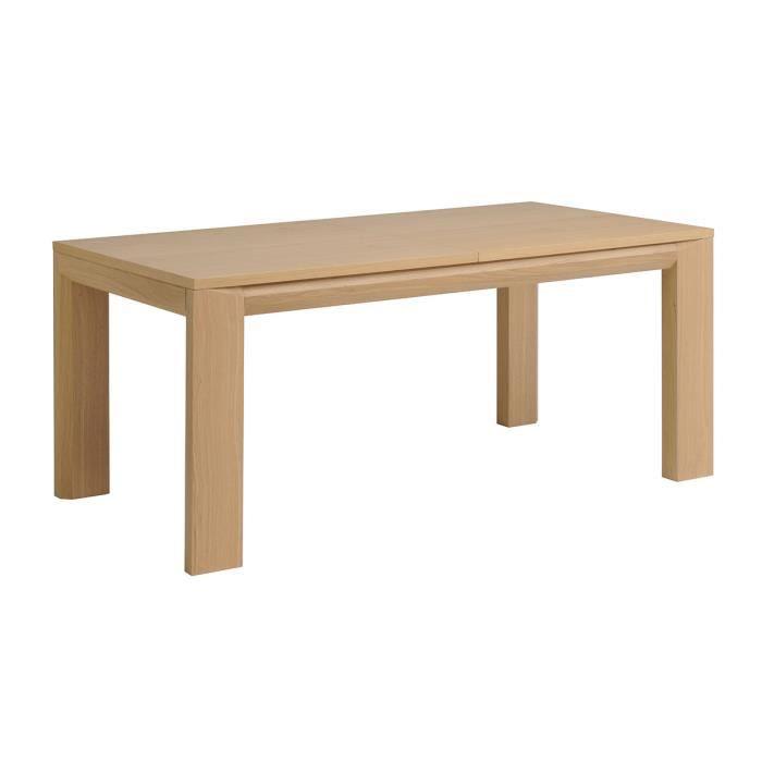 Table manger extensible 270 cm couleur ch ne achat vente table mang - Achat table a manger ...