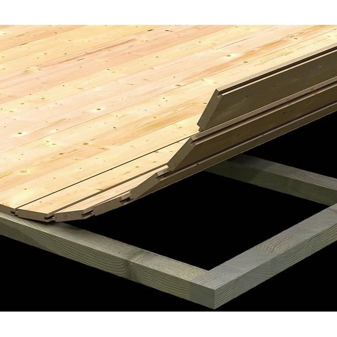 Plancher en bois pour abris girion 5 achat vente abri jardin chalet plancher en bois pour - Abri de jardin en bois avec plancher ...