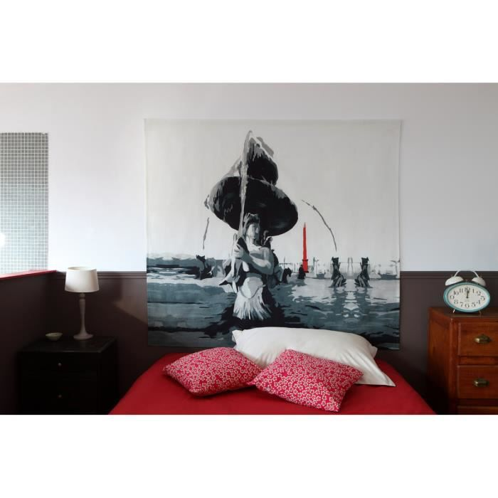 t te de lit place de la concorde 160 140 cm achat. Black Bedroom Furniture Sets. Home Design Ideas