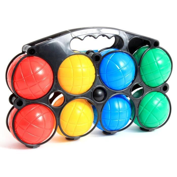 Mgm panier de 8 boules de p tanque cochonnet achat vente jeu de quille cdiscount - Jeux de bouee ...