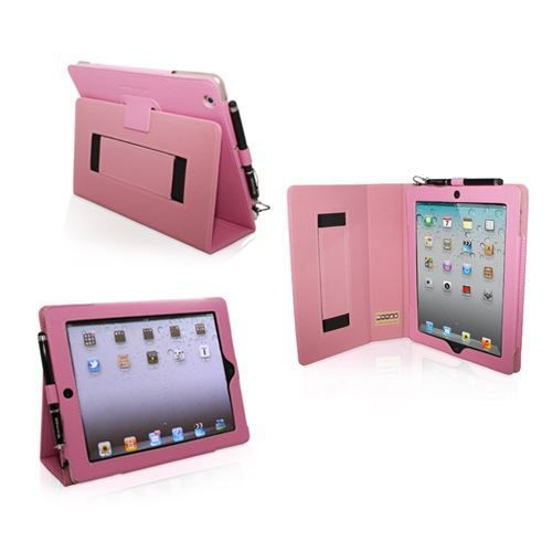 Snugg housse ipad 2 cuir rose fonction suppor prix for Prix housse ipad