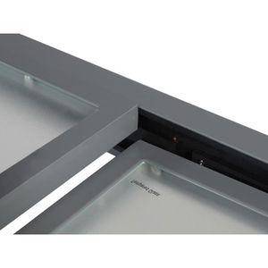 table de jardin extensible en aluminium achat vente pas cher cdiscount. Black Bedroom Furniture Sets. Home Design Ideas