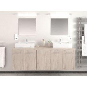 Double vasque achat vente double vasque pas cher for Salle bain complete