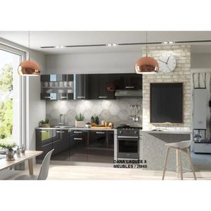 Cuisine compl te avec lectrom nager achat vente cuisine compl te avec l - Bloc cuisine avec electromenager ...
