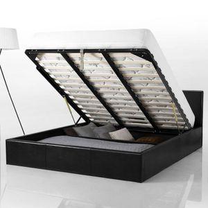 tete de lit 180 avec rangement achat vente tete de lit 180 avec rangement pas cher soldes. Black Bedroom Furniture Sets. Home Design Ideas