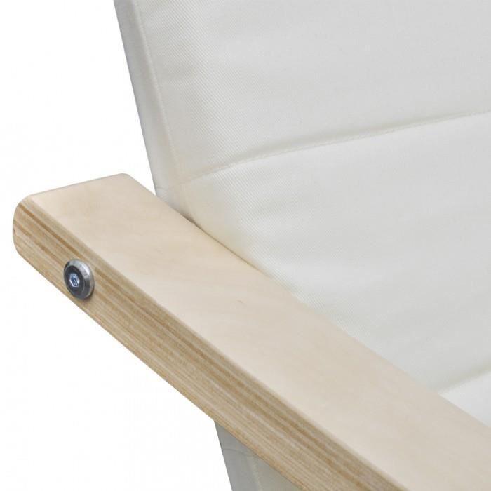 fauteuils club fauteuil en bois courbe couleur creme avec. Black Bedroom Furniture Sets. Home Design Ideas