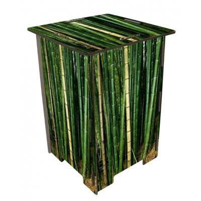 tabouret bambou achat vente tabouret bambou mdf cdiscount. Black Bedroom Furniture Sets. Home Design Ideas