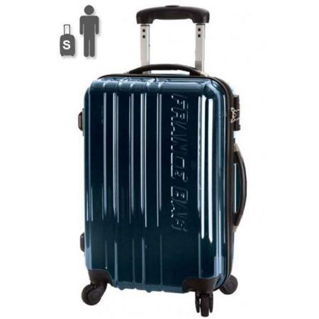 france bag valise rigide 50 cm macao bleu m tal achat. Black Bedroom Furniture Sets. Home Design Ideas