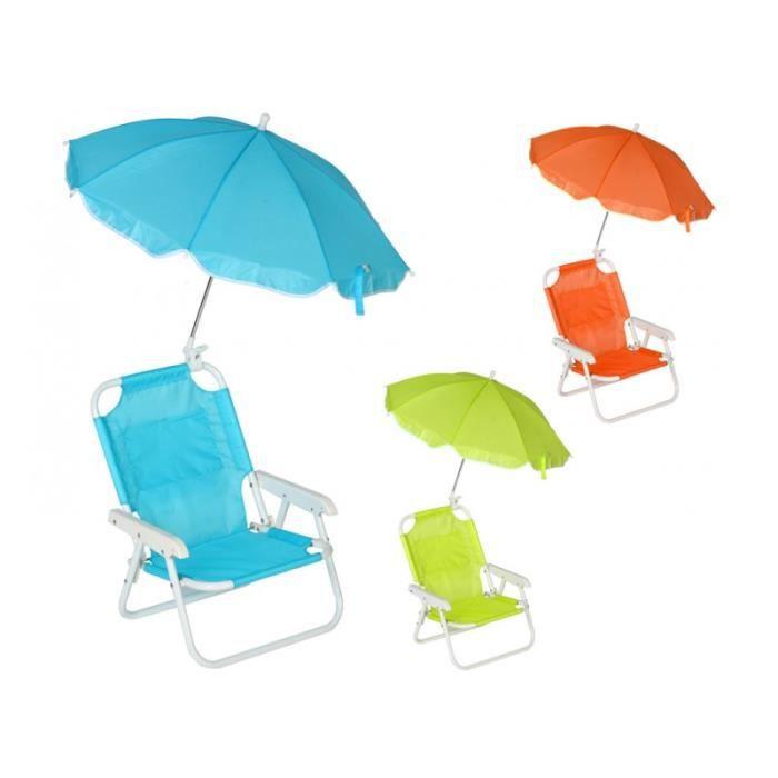 chaise de plage avec parasol planete discount achat vente fauteuil jardin chaise de plage. Black Bedroom Furniture Sets. Home Design Ideas