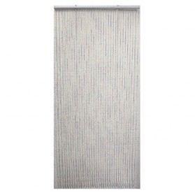 Rideau de porte perles en plastique 90x200 cm achat for Rideau en plastique exterieur