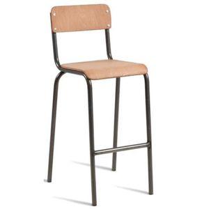 chaise de bar vintage achat vente chaise de bar vintage pas cher cdiscount. Black Bedroom Furniture Sets. Home Design Ideas