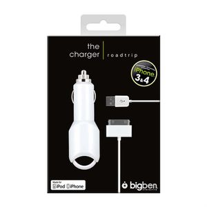 IPHONE 3G/3GS CHARGEUR ALLUME CIGARE BLANC