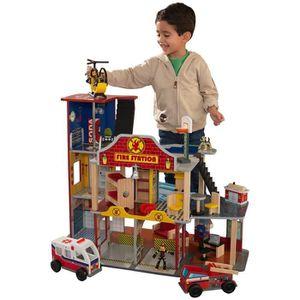 garage kidkraft achat vente jeux et jouets pas chers. Black Bedroom Furniture Sets. Home Design Ideas