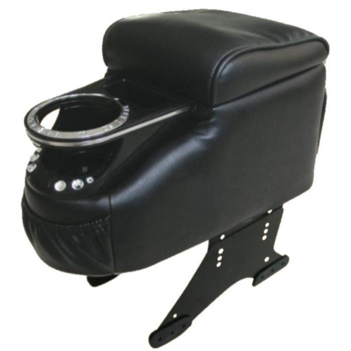 accoudoir centrale pour voiture simili cuir noir achat vente accoudoirs accoudoir centrale. Black Bedroom Furniture Sets. Home Design Ideas