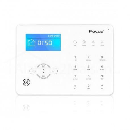 centrale d 39 alarme maison sans fil focus gsm rtc achat vente alarme autonome cdiscount. Black Bedroom Furniture Sets. Home Design Ideas
